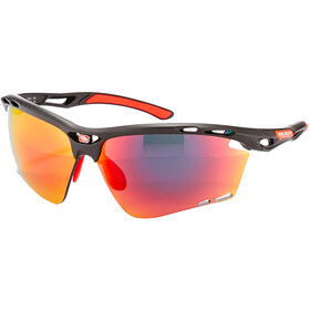 Rudy Project Propulse Gafas, charcoal matte/multilaser red